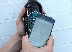 Rough Draft beer concept uses NFC to phone home. When tapped, Rough Draft presents the drinker with a map that locates all pubs in the immediate area and sends:A text message letting someone know you'll be home lateAn email to your boss telling them you don't think you'll be in tomorrowA tweet inviting friends to join you