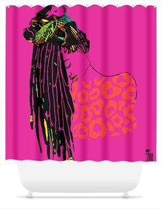 21 Best African American Shower Curtains Images On Pinterest