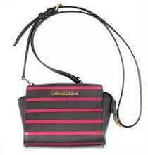 I treated myself to this delicious MICHAEL MICHAEL KORS small Billy suede messenger bag ??