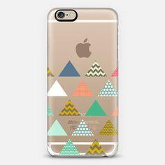 geo triangles transparent - Classic Snap Case