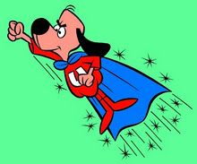 Underdog! I used to watch this when I came home from school for lunch and to get my neice and take her back with me for afternoon kindergarten. (I was the only kid in 6th grade who didn't eat at school!)