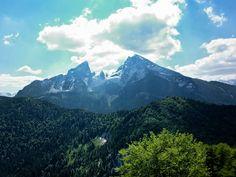 Watzmann from the top of the Grunstein