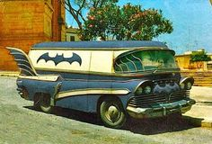 Bat Mobile! Not necessarily my dream car. I just think this is pretty sweet.
