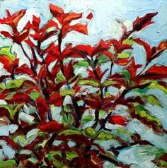 Afternoon Light Coleus by Monique Kendikian-Sarkessian, our Painter from Philadelphia. #floral #flowers #nature #painting #humpday #representational #interiordesign #housewarminggift #gifts #framing #photography. Find more beautiful art at our online gallery at http://bit.ly/1PmZQhj