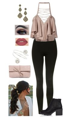 """""""Untitled #590"""" by sunnywinterday on Polyvore featuring Topshop, Balmain, River Island, Andara, BHCosmetics, Smashbox, Miss Selfridge and LULUS"""