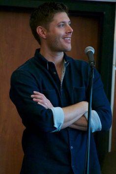 Dean Winchester   Jensen Ackles   Supernatural  #J2BreakfastPanel  #VanCon 2013