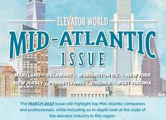 Our March issue will focus on the Mid-Atlantic region. Click for more information on this special issue, such as advertising and editorial opportunities.