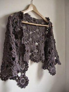 MES FAVORIS TRICOT-CROCHET: Modèle crochet gratuit : L'étole japonaise