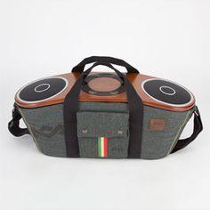HOUSE OF MARLEY Bag Of Riddim Portable Bluetooth Speaker System  #houseofmarley #tillys