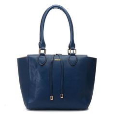 Michael Kors Miranda Pebbled Large Navy Totes.More than 60% Off, I enjoy these bags.It's pretty cool (: JUST CLICK IMAGE~ | See more about michael kors, totes and outlets.