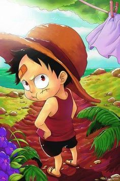 Aww..How cute...!! Luffy