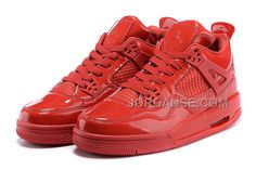 """http://www.jordanse.com/air-jordan-4-retro-11lab4-red-patent-leather-for-sale-new-arrival.html AIR JORDAN 4 RETRO 11LAB4 """"RED PATENT LEATHER"""" FOR SALE NEW ARRIVAL Only 80.00€ , Free Shipping!"""