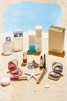 Enter the Saks summer beauty giveaway for a chance to win Tumi luggage filled with Dolce & Gabbana beauty products.