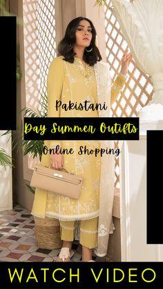 Pakistani Lawn Suits, Pakistani Designer Suits, Pakistani Dress Design, Designer Sarees, Pakistani Dresses, Eid Dresses For Girl, Little Girl Wedding Dresses, Latest Pakistani Fashion, Pakistani Fashion Party Wear