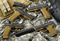 Armas Heckler & Koch Pistol Gun Pistol Heckler & Koch Papel de Parede