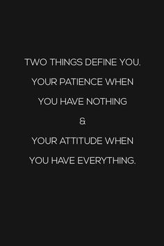 Two things define  you. Your patience when you have nothing and your attitude when you have everything. #Chitrchatr  #EarlySubscribersPromo
