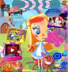 """""""Wandering with Alice"""" es el título del glog de Inma López, amiga y profe de Inglés. Nos lleva de la mano por parte del mundo de este fantástico personaje :-)"""