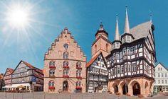 Alsfeld Travel List, Germany Travel, Notre Dame, Barcelona Cathedral, Explore, Architecture, City, Building, Kirchen