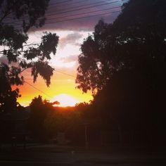 Sunrise in Melbourne