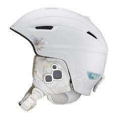 Salomon Icon Custom Air Ski Helmet (White Matt, Medium - Large) by Salomon. $84.99. Amazon.com                   The integrated, patented Docmeter Helmet Air System was developed by sport trauma scientists and physicians to protect against impact injury.   The Salomon Icon Custom Air women's ski helmet not only looks snappy on the slopes, it protects your dome better than almost any other sport helmet. An integrated, adjustable air system -- developed by Salomon partne...