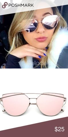 2016 New Designer Brand Cateye Mirror Sunglasses Incredibly Cool Sunglasses! Brand new and high quality. 400 UV Protection. Accessories Sunglasses