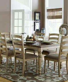 Homelegance Nash Dining Table With Solid Wood Top And Butterfly Leaf