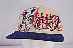 Cleveland Indians Baseball Cap Ivory/Blue Snapback NWT | Sports Mem, Cards & Fan Shop, Fan Apparel & Souvenirs, Baseball-MLB | eBay!