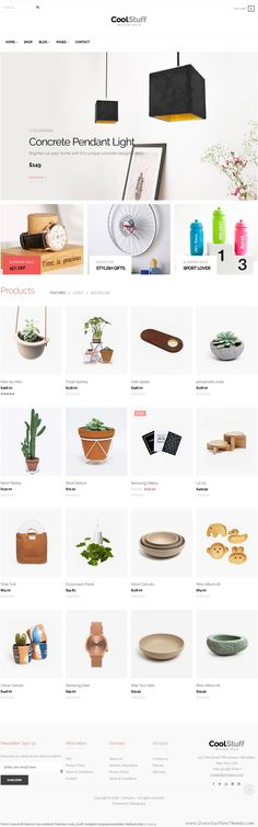 CoolStuff is creative multi-purpose eCommerce WordPress theme based on WooCommerce. With purpose oriented and creative design, responsive layout, the theme will show off your products in smartest ways.