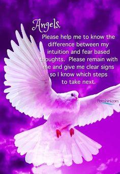 Spiritual Prayers, Spiritual Awakening, Archangel Raphael, Archangel Gabriel, Archangel Prayers, Angel Quotes, Angel Guidance, Your Guardian Angel, I Believe In Angels