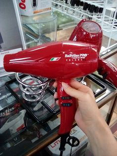 SALE!!! BaByliss Pro V1 Volare Dryer only $159.99 🔥🔥 Designed in cooperation with Ferrari, the ultra-efficient Volare V1!! #hairstyle #blowdry #blowdryer #alamoheights #sale #sanantonio Alamo Heights, Blow Dry, Styling Tools, Hair Dryer, Ferrari, Hairstyle, Design, Hair Job, Hair Style