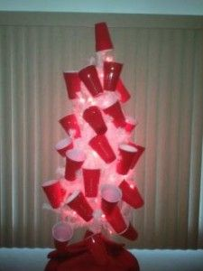 red solo cup christmas tree ha ha i love that song - Redneck Christmas Ideas