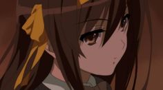 The Disappearance of Haruhi Suzumiya Cool Anime Girl, Cute Anime Pics, Deidara Wallpaper, Haruhi Suzumiya, Kyoto Animation, Anime Expressions, Melancholy, Webtoon, Game Art