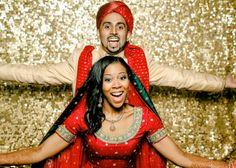 Pakistani + African American Wedding. Photos by Christy Tyler, Satrina and Anwar