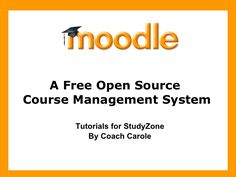 moodle-tutorials by Carole McCulloch via Slideshare