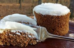 Frosted Cinnamon Muffin in a Mug EXCLUSIVE Trim Healthy Mama Recipe: