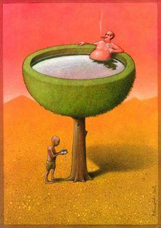 Water economy by Pawel Kuczynski