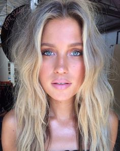 """4,664 Likes, 49 Comments - Brittany Sullivan (@brittsully) on Instagram: """"✨dreamy lil blue-eyed babe @paige_watkins ✨#makeup #hair ✨✨ps: beauty side note - I find that I…"""""""