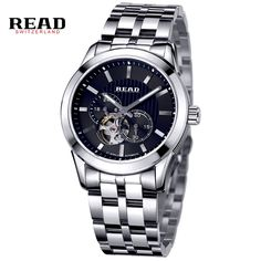 101.99$  Buy now - http://ali5ov.worldwells.pw/go.php?t=32565021274 - READ Men's business automatic mechanical watch 8006G 101.99$