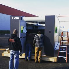 Our new laser for manufacturing! @NuStep_Inc www.nustep.com