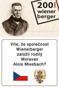 Víte, že na počátku onoho příběhu - založení společnosti Wienerberger - stojí rodilý Moravan Alois Miesbach, který v roce 1819 založil firmu Wienerberger?  #200let #výročí #Wienerberger #historie