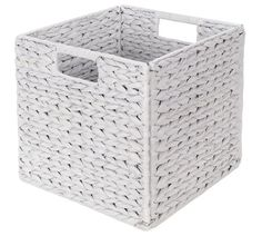 Buy HOME Water Hyacinth Cube - White at Argos.co.uk, visit Argos.co.uk to shop online for Storage baskets and boxes, Storage, Home and garden
