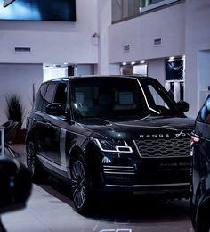 Black Audi, Black Cars, Best Luxury Cars, Luxury Suv, My Dream Car, Dream Cars, Range Rover Vogue, Sv Autobiography, Range Rover Black
