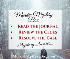 the Detective One-time boxes available. Shipping is Free. One-time boxes available. Shipping is Free. Cozy Mysteries, Mystery Box, True Crime, Investigations, Detective, Boxes, Reading Books, Shit Happens, Happenings