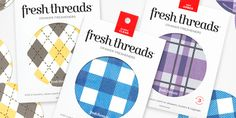 Fresh Threads™ is a paper drawer freshener
