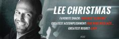 Jason Statham is Lee Christmas: The loose cannon of the crew who doesn't play well with others.