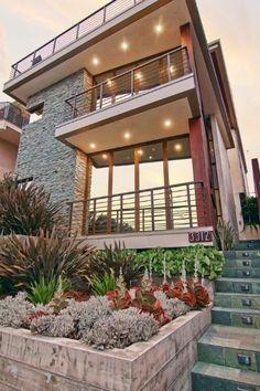 Steve Lazar manhattan beach custom walk street home, steve lazar design+build