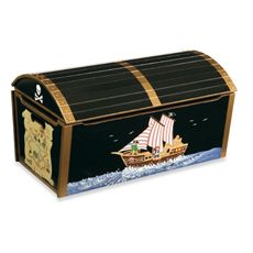 Treasure Chest Toy Box - Bed Bath & Beyond   (eyligh/ make own)