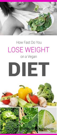 How Fast Do You Lose Weight on a Vegan #Diet #diet_tips #diet_plans #weight_loss #lose_weight #healthy_diet #vegan_diet #belly_fat #nutrition