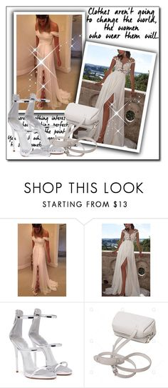 """Simidress"" by ajsajunuzovic ❤ liked on Polyvore featuring Giuseppe Zanotti"
