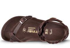 Tatami (Birkenstock) Yara Dark Brown leather
